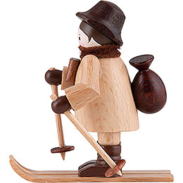 Thiel Figurine - Gamekeeper on Ski - natural - 6 cm / 2.4 inch