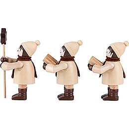 Thiel-Figur Kurrendefiguren - natur - 3-teilig - 7,5 cm