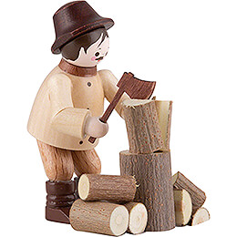 Thiel Figurine - Woodchopper - natural - 5,5 cm / 2.2 inch