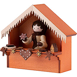 Christmas Market Stall Gingerbread with Thiel Figurine - 8 cm / 3.1 inch
