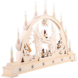 Candle Arch - Winterchildren - 78x45 cm / 31x18 inch