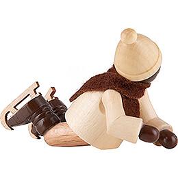 Thiel-Figur Schlittschuhkind gestürzt - natur - 3,5 cm
