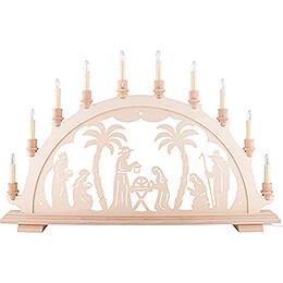 Candle Arch - Nativity - 67,5x44 cm / 26.6x17.3 inch