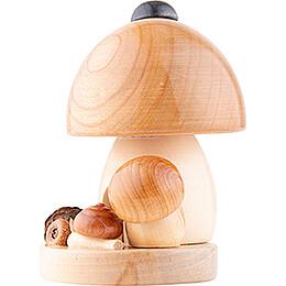 Räucherpilz runde Form - 11,5 cm