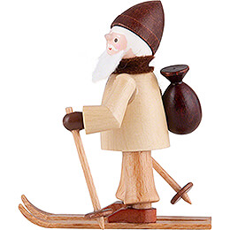 Thiel Figurine - Rupert on Ski - natural - 6 cm / 2.4 inch