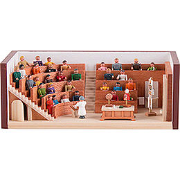 Miniature Room - Lecture Hall - 4 cm / 1.6 inch
