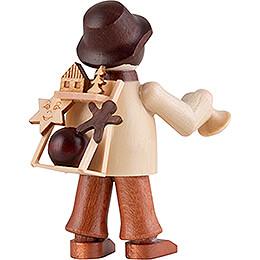 Thiel-Figur Spielzeughändler - natur - 6 cm