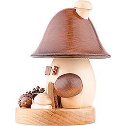 Räucherpilz Braunkappe Glockenform - 15 cm