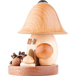 Räucherpilz Glockenform - 15 cm
