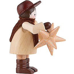 Thiel Figurine - Man with Star - 6 cm / 2.4 inch