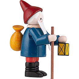 Thiel Figurine - Gnome with Lantern - coloured - 6 cm / 2.4 inch