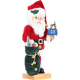 Nutcracker - Santa with Music Box - Limited Edition - 47,5 cm / 18.6 inch