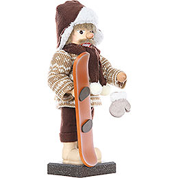 Nutcracker - Snowboarder - Limited Edition - 45,5 cm / 18 inch