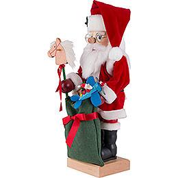 Nussknacker Weihnachtsmann mit Spielzeug - 47 cm
