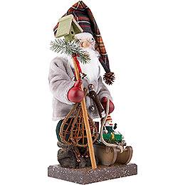 Nussknacker Weihnachtsmann mit Schlitten, limitiert - 46,0 cm