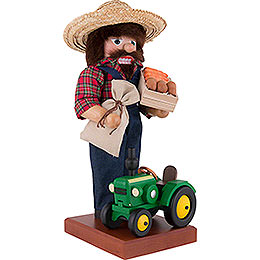 Nutcracker Farmer with Tractor - 45,5 cm / 18 inch