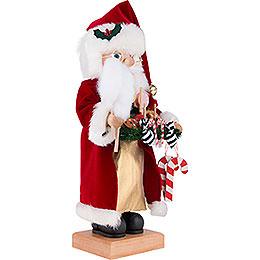 Nussknacker Weihnachtsmann mit Süßwaren - 46,5 cm