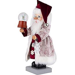 Nussknacker Weihnachtsmann Schneekugel - 47 cm