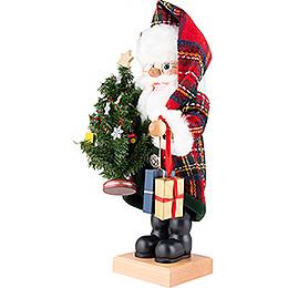 Nussknacker Weihnachtsmann Karo - 49 cm