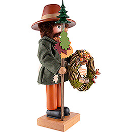 Nutcracker - Forest Man with Wreath - 47 cm / 18.5 inch
