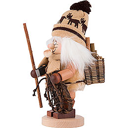 Smoker - Gnome Woodworker - 30,5 cm / 12 inch