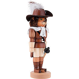 Nutcracker - Puss in Boots Natural Wood - 37,5 cm / 15 inch