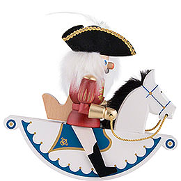 Nutcracker Horse Rider Elector - 22 cm / 8.7 inch