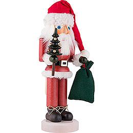 Nussknacker Weihnachtsmann lasiert - 40,5 cm
