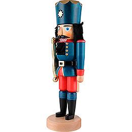 Nussknacker König blau lasiert - 39,5 cm