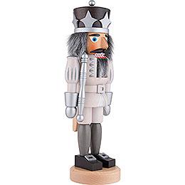 Nutcracker Prince white/silver Glazed - 38,5 cm / 15.2 inch
