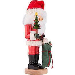 Nussknacker Weihnachtsmann mit Sack - 41 cm
