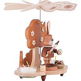 1-Tier Pyramid - Bunny Natural - 19,5 cm / 8 inch