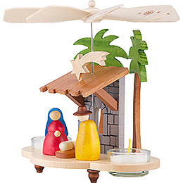 1-Tier Pyramid - Holy Family - 19,5 cm / 8 inch