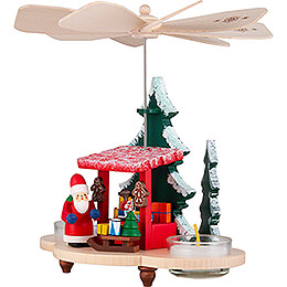 1-Tier Pyramid Santa at the Striezel Market - 19,5 cm / 7.7 inch