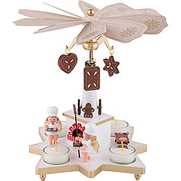 1-Tier Pyramid - Baker Angel - 27 cm / 11 inch