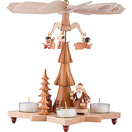 1-Tier Pyramid - Santa Claus Natural - 27 cm / 11 inch