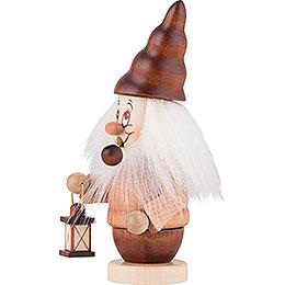 Smoker - Mini-Gnome with Lantern - 16,5 cm / 6,5 inch