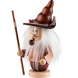 Smoker - Mini-Gnome with Stick - 16,5 cm / 6,5 inch