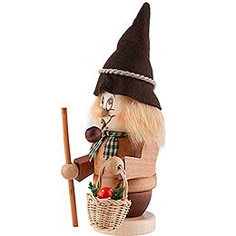 Smoker - Mini Gnome Mushroom Gatherer - 15,5 cm / 6.1 inch