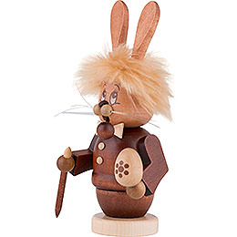 Smoker - Gnome Bunny (male) - 16,5 cm / 6 inch