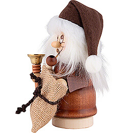 Smoker - Minignome Santa Claus with Bell - 15,5 cm / 6.1 inch