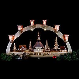 Candle Arch - Seiffen Church - 80 cm / 31 inch