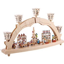 Candle Arch - The Erzgebirge Workshop - Electrical - 48 cm / 19 inch