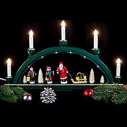Schwibbogen Weihnachtsmann - 48x28 cm