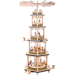 5-Tier Pyramid - Nativity Scene - 70 cm / 27.5 inch