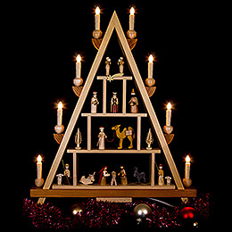 Light Triangle - Nativity - 55x68 cm / 21.7x26.8 inch