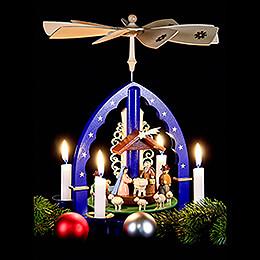 1-stöckige Pyramide Christi Geburt - 27 cm