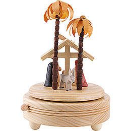 Music Box Nativity Scene - 18 cm / 7 inch