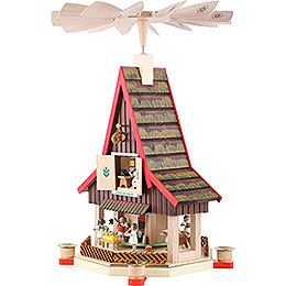 2-Tier Advent's House Angel's Bakery - 53 cm / 21 inch