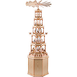Pedestal for Pyramids Octagonal Natural - 41 cm / 16 inch